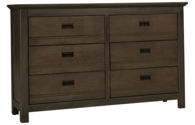 Oak Furniture West Owen 6 Drawer Dresser