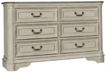 Liberty Furniture Magnolia Manor 6 Drawer Dresser