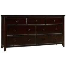 Maxwood Furniture Boston 3 Over 4 Drawer Dresser