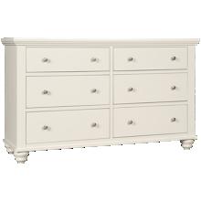 Aspen Cambridge 6 Drawer Dresser