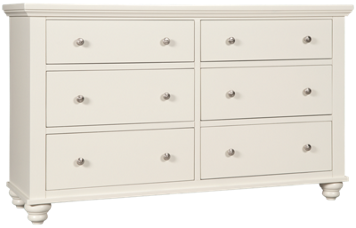 Aspen Cambridge 6 Drawer Dresser