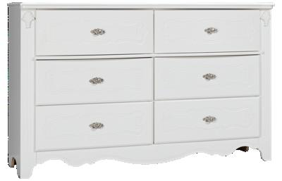 Ashley Exquisite 6 Drawer Dresser