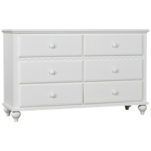 Hillsdale Furniture Lauren 6 Drawer Dresser