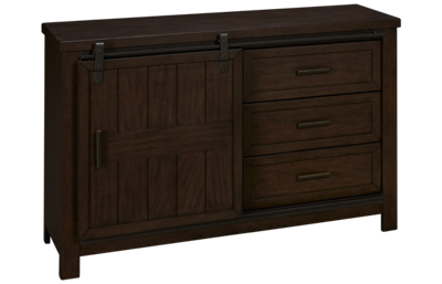 Liberty Furniture Thornwood Hills 3 Drawer 1 Door Dresser