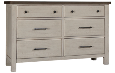 Westwood Designs Timber Ridge 6 Drawer Dresser