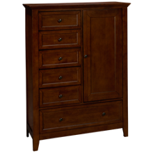 Intercon San Mateo 6 Drawer 1 Door Chifferobe