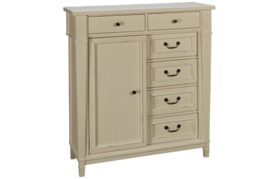 Folio 21 Furniture Stoney River 1 Door 6 Drawer Chest