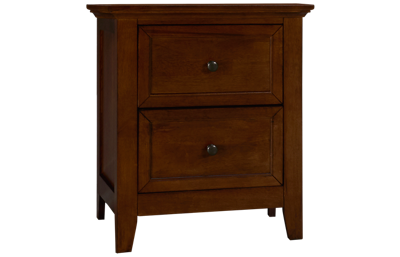 Intercon San Mateo 2 Drawer Nightstand