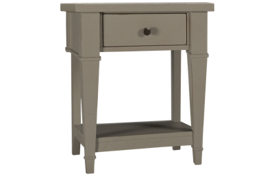 Folio 21 Furniture Stone Bay 1 Drawer Kids Nightstand