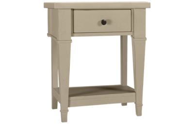 Folio 21 Furniture Stoney River 1 Drawer Nightstand