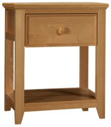 Maxwood Furniture Boston 1 Drawer Nightstand
