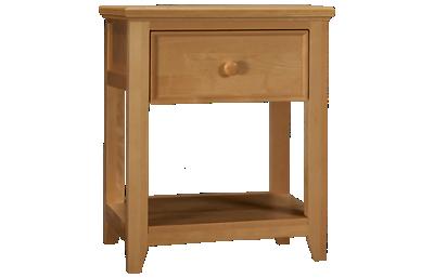 Maxwood Furniture Boston 1 Drawer Nightstand