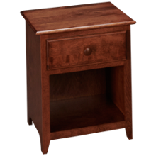 Revolution Furnishings Shaker 1 Drawer Nightstand