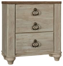 Ashley Willowton 2 Drawer Nightstand