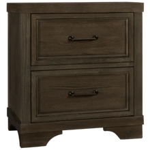 Westwood Designs Foundry 2 Drawer Nightstand