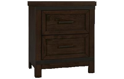 Liberty Furniture Thornwood Hills 2 Drawer Nightstand
