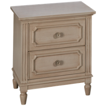 Legacy Classic Emma 2 Drawer Nightstand