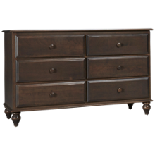 Oak Designs Surf City 6 Drawer Dresser