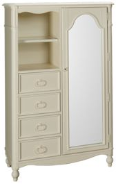Legacy Classic Harmony 4 Drawer, 1 Door Chest