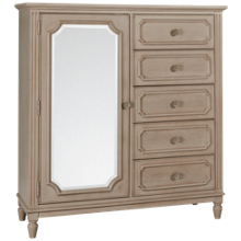 Legacy Classic Emma 1 Door 5 Drawer Wardrobe