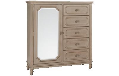 Legacy Classic Emma 1 Door 5 Drawer Wardrobe