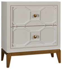 Legacy Classic Rachael Ray Chelsea 2 Drawer Lattice Nightstand