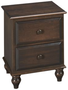 Oak Designs Surf City 2 Drawer Nightstand