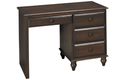 Oak Designs Surf City 4 Drawer Desk