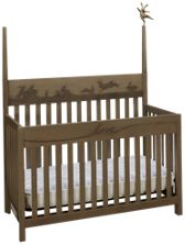 ED by Ellen DeGeneres Forest Animals Convertible Crib