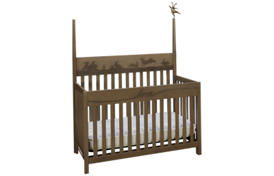 ED Ellen DeGeneres by Bivona Forest Animals Convertible Crib
