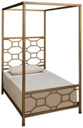 Legacy Classic Rachael Ray Chelsea Twin Metal Canopy Bed