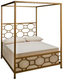Legacy Classic Rachael Ray Chelsea Full Metal Canopy Bed