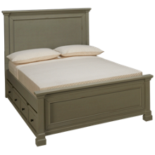 Folio 21 Furniture Stone Bay Full Bed with Trundle