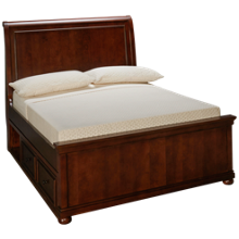Legacy Classic Canterbury Full Sleigh Bed with Underbed Storage