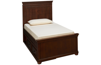 Legacy Classic Canterbury Twin Panel Bed with Underbed Storage