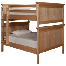 Maxwood Furniture Boston Full Over Full Bunk Bed