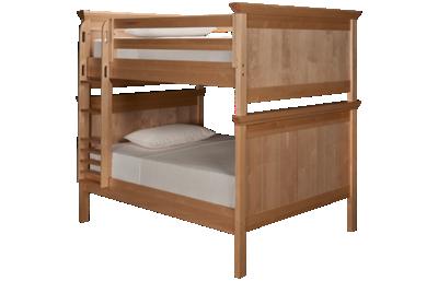Maxwood Furniture Boston Full Over Full Bunk Bed