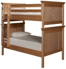 Maxwood Furniture Boston Twin Over Twin Bunk Bed