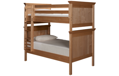 Maxwood Furniture Boston Twin Over Twin Bunk Bed
