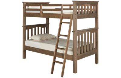 NE Kids Highlands Twin over Twin Bunk Bed