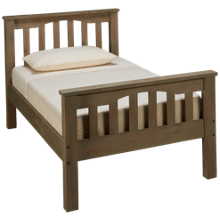 NE Kids Highlands Twin Harper Bed