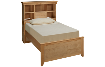 Maxwood Furniture Boston Twin Bookcase Bed