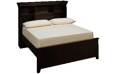 Maxwood Furniture Boston Full Bookcase Bed