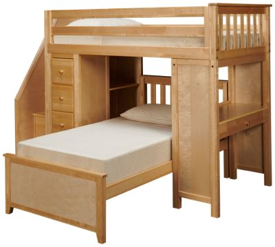Twin Over Twin Loft Bed With Desk Cheaper Than Retail Price Buy Clothing Accessories And Lifestyle Products For Women Men