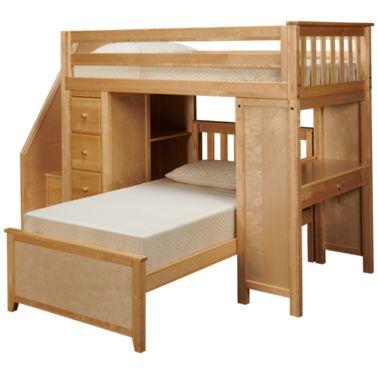 Maxwood Furniture Chester Maxwood Furniture Chester Twin Over Twin