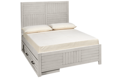 Legacy Classic Summer Camp Full Panel Bed with Storage