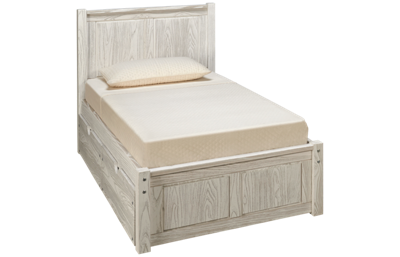 Innovations Nate Twin Panel Bed with Underbed Chest
