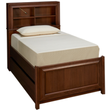 Universal Savannah Twin Bookcase Bed with Trundle