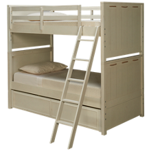 Legacy Classic Lake House Twin Over Twin Bunk Bed with Trundle