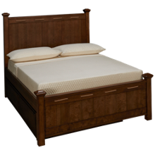 Legacy Classic Lake House Full Low Post Bed with Trundle